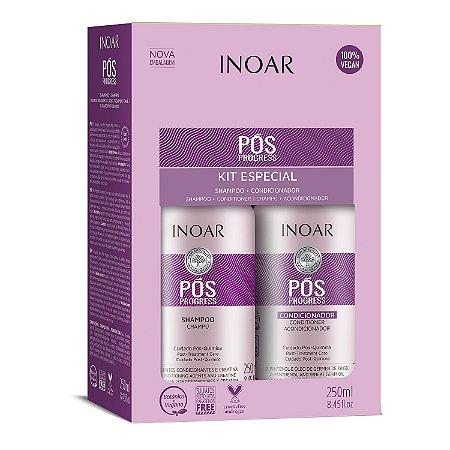 Inoar Kit Pós Progress - Shampoo e Condicionador 250ml