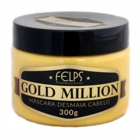 Felps Gold Million Desmaia Cabelo - Máscara Capilar 300g