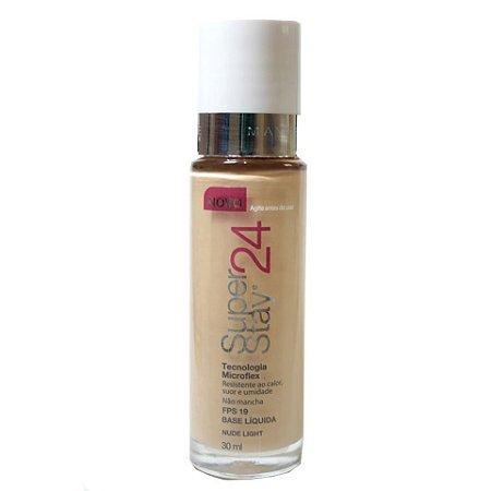 Maybelline SuperStay 24h - Base Liquida Facial - Nude Light