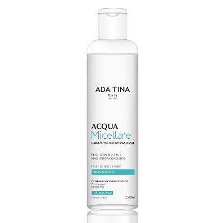 Ada Tina Acqua Micellare - Água Micelar Demaquilante 250ml