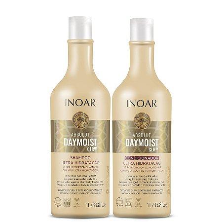 Inoar Kit Absolute Daymoist - Shampoo e Condicionador 1000ml