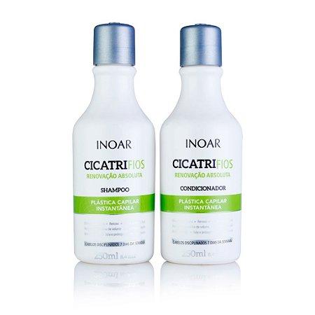 Inoar Kit Cicatrifios - Shampoo e Condicionador 250ml