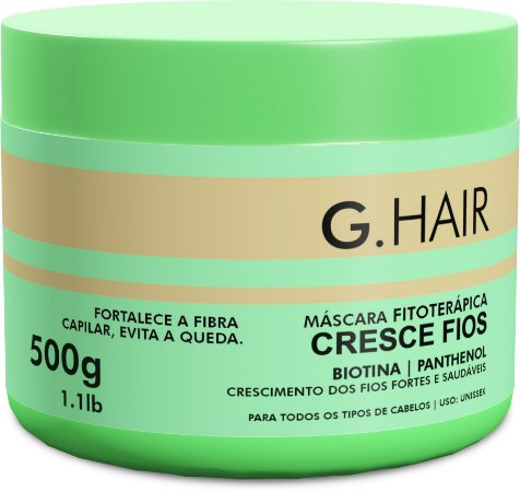 G.Hair Cresce Fios - Máscara 500g