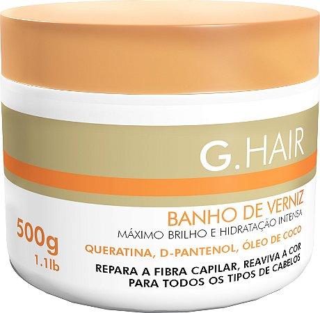 G.Hair Banho de Verniz - Máscara 500g