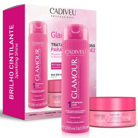 Cadiveu Glamour Kit Home Care