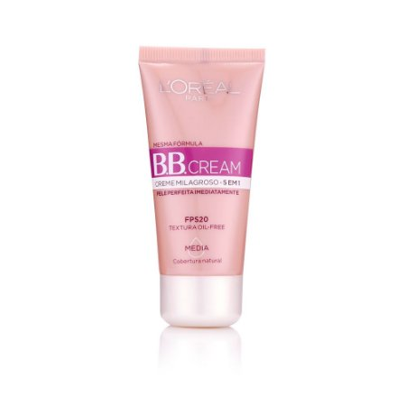L'Oréal Paris Creme Milagroso 5 em 1 FPS 20 Média - BB Cream 30ml