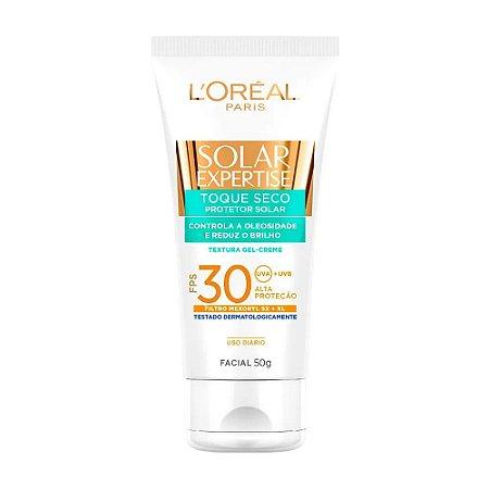 L'Oréal Paris Solar Expertise Facial Toque Seco FPS 30 - Protetor Solar 50g