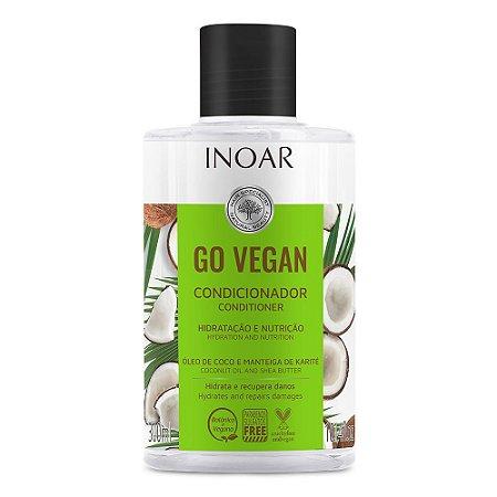 Inoar Go Vegan Hidratação e Nutrição - Condicionador 300ml