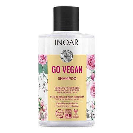 Inoar Go Vegan Cachos - Shampoo 300ml