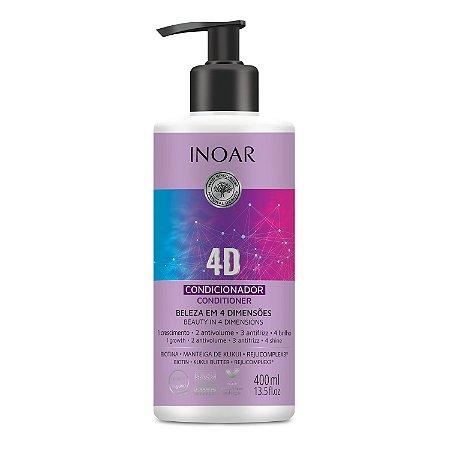 Inoar 4D - Condicionador 400ml