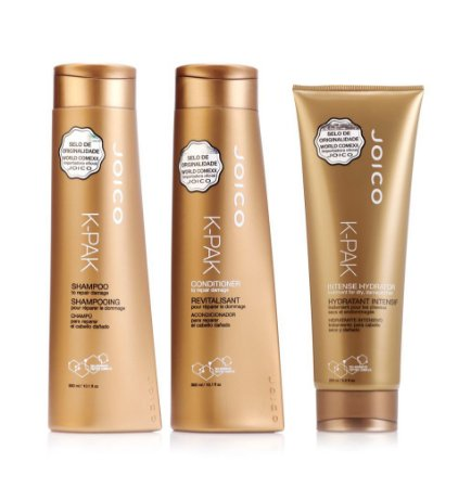 Kit Joico K-Pak - Shampoo + Condicionador + Intense Hydrator