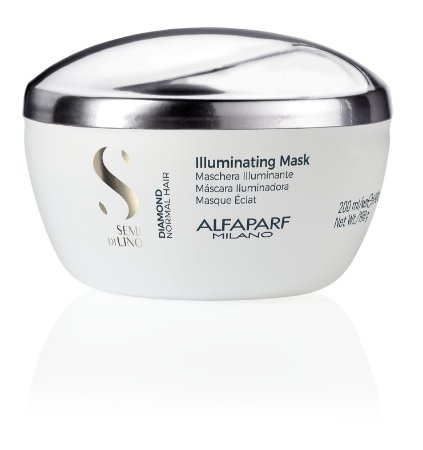 Alfaparf Semi Di Lino Diamond Illuminating - Máscara 200ml