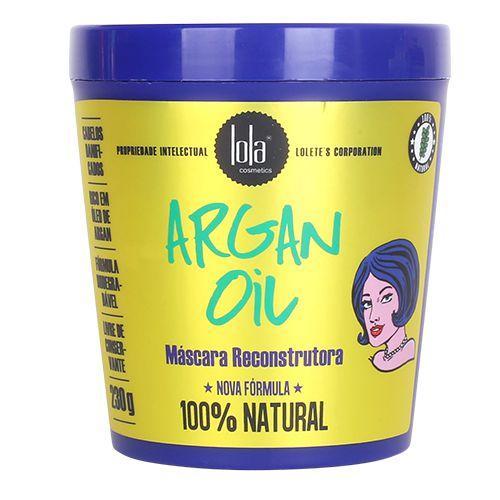 Lola Argan Oil - Máscara Reconstrutora 230g