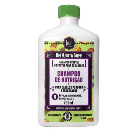 Lola Be(m)dita Ghee - Shampoo de Nutrição 250ml