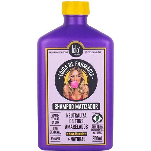 Lola Loira de Farmácia - Shampoo Matizador 250ml