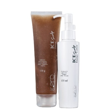 Kit K.Pro Ice Scalp Energy Duo - Esfoliante + Loção