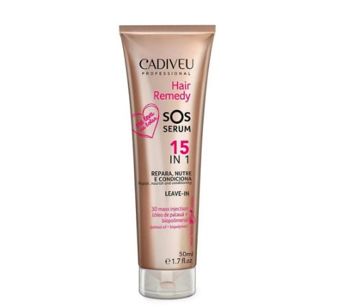 Cadiveu Hair Remedy SOS Serum 15 em 1 - Leave-in 50ml