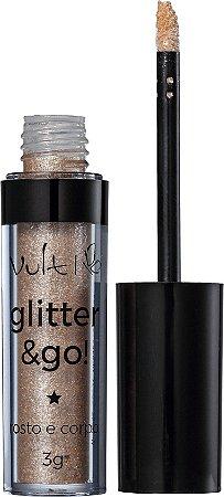 Vult Glitter & Go! - Pote de Ouro 3g
