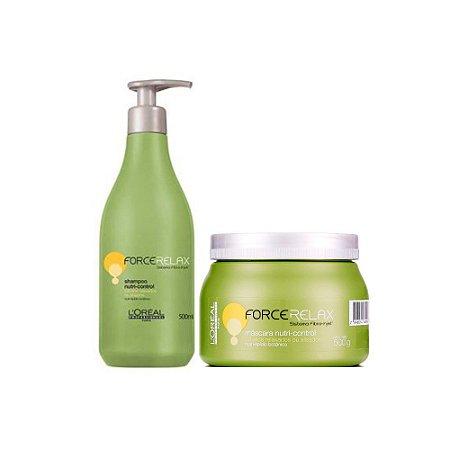 Kit L'Oréal Force Relax - Shampoo + Máscara