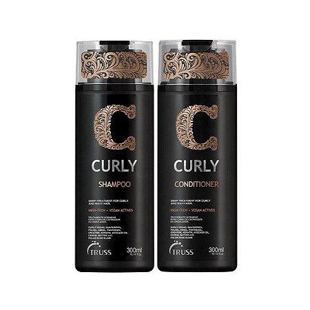 Kit Truss Curly - Shampoo e Condicionador 300ml