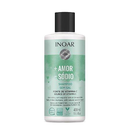Inoar Mais Amor Menos Sódio - Shampoo 400ml