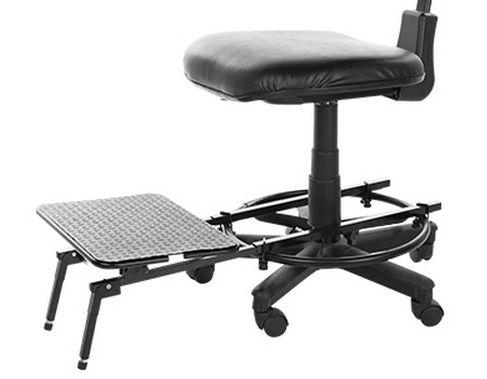 Apoio para Pés para Cadeira Caixa