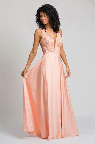 vestido longo suave