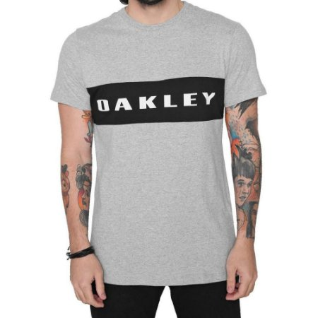 Camiseta Oakley Sport Tee Stone Grey