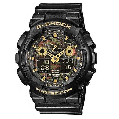 Relógio G-Shock GA-100CF-1A9DR