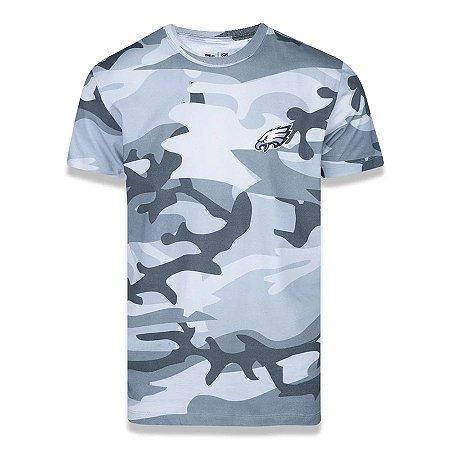 Camiseta New Era Philadelphia Eagles NFL Military Total