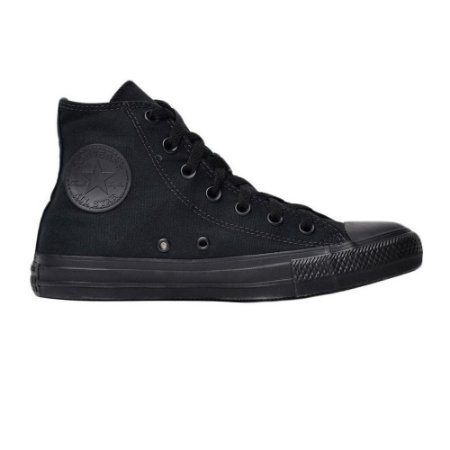 Tênis Converse All Star Monochrome - Preto/Preto