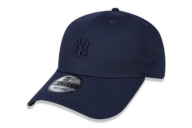Boné New Era 940 Aba Curva Yankees MLB MIni logo - Snapback