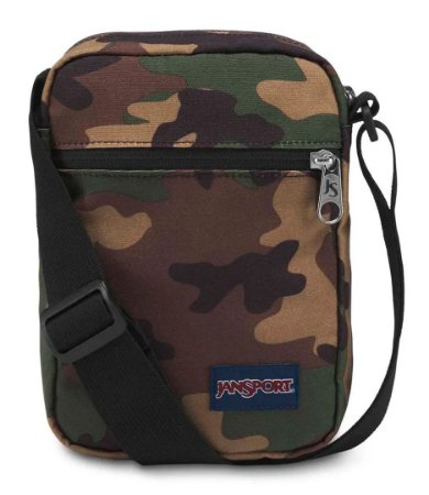 Bolsa Shoulder Bag Jansport Camuflada
