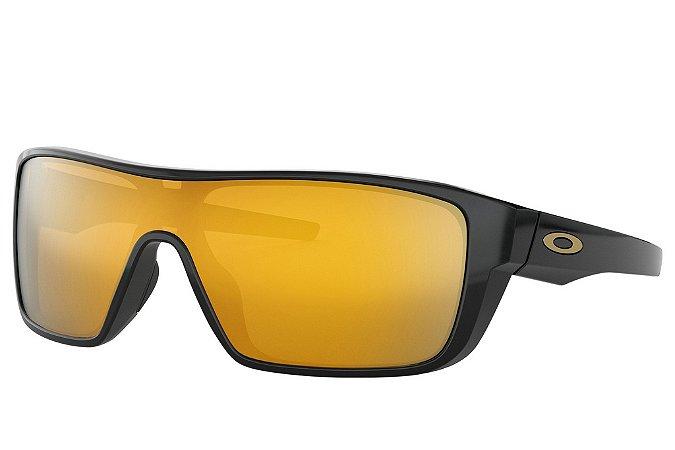 caafe5500 Óculos Oakley Straightback Iridium Black 24K W/ Iridium - Original ...