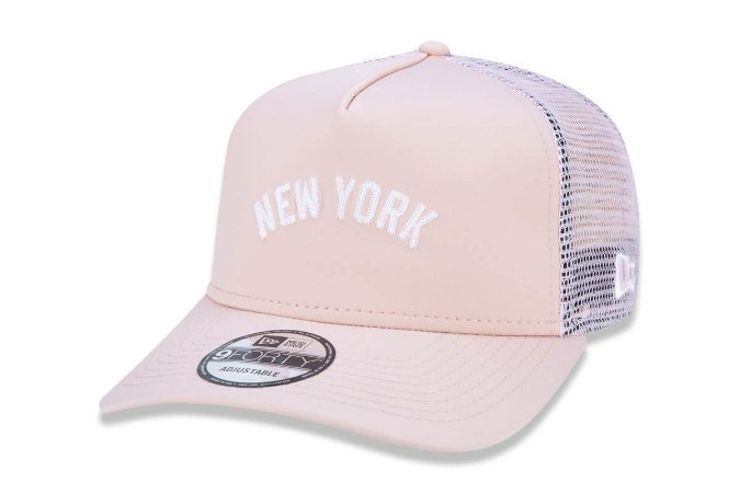 Boné New Era 940 Aba Curva New York - Snapback