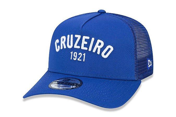 Boné New Era 940 Aba Curva Trucker Cruzeiro - Snapback