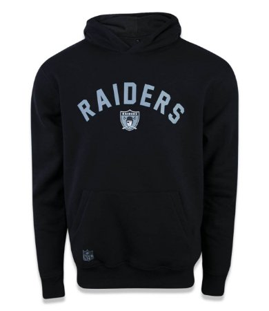 Moletom New Era Canguru Fechado Oakland Raiders