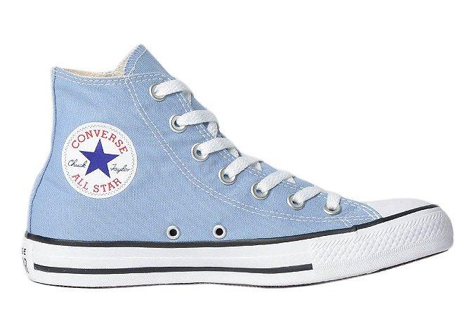 Tênis Converse Chuck Taylor All Star Hi - Azul Aço