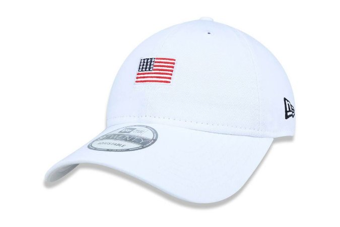 Boné New Era 920 ST Aba Curva Mini Flag -Strapback