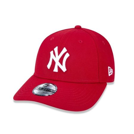 Boné New Era 940 New York Yankees Infantil - Vermelho