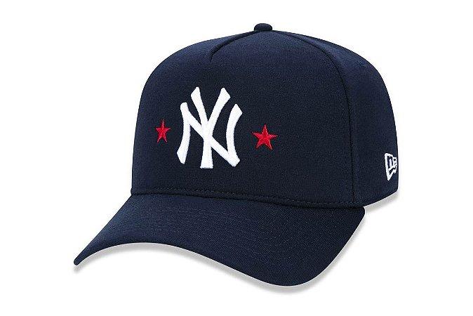 47dfb4a5ed Boné New Era 940 Aba Curva New York Yankees - Original - Surfers ...