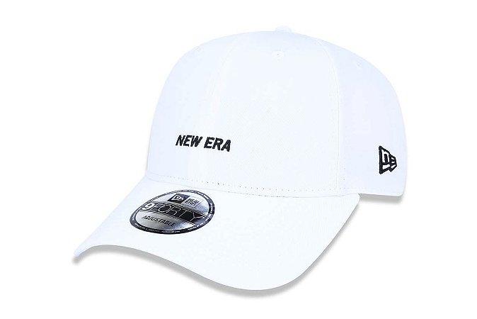 Boné New Era 940 Aba Curva Logo Basic - Snapback