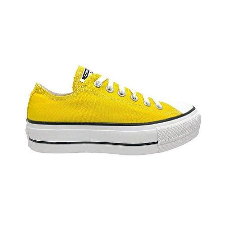 Tênis Converse Chuck Taylor All Star Plataforma - Amarelo
