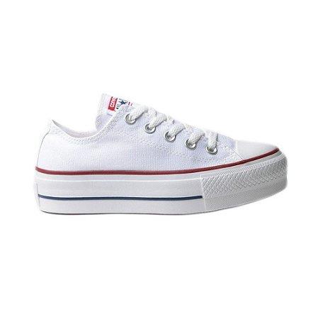 Tênis Converse Chuck Taylor All Star Plataforma - Branco