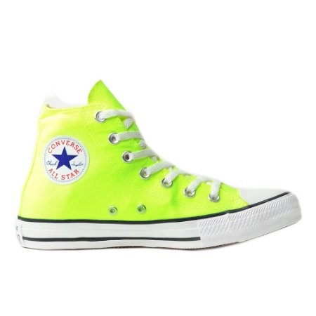Tênis Converse Chuck Taylor All Star Hi - Verde Flúor