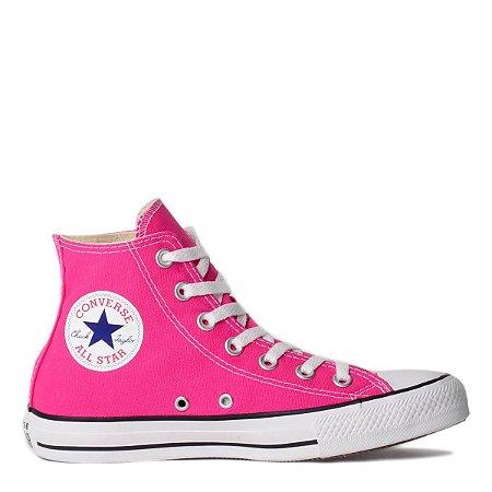 Tênis Converse Chuck Taylor All Star Hi - Rosa Neon
