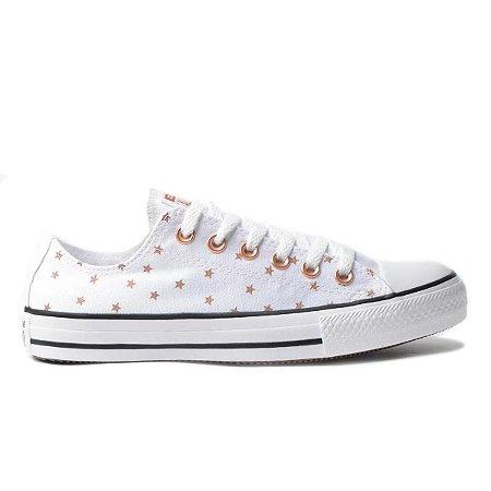 Tênis Converse Chuck Taylor All Star - Estrelado Branco