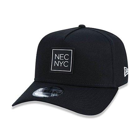 Boné New Era 940 NEC NYC Aba Curva Preto - Snapback