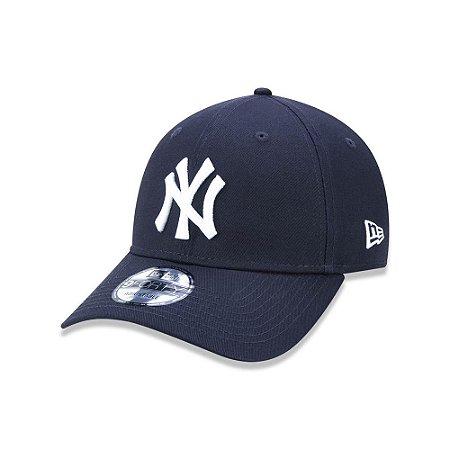Boné New Era 940 New York Yankees Aba Curva - Marinho