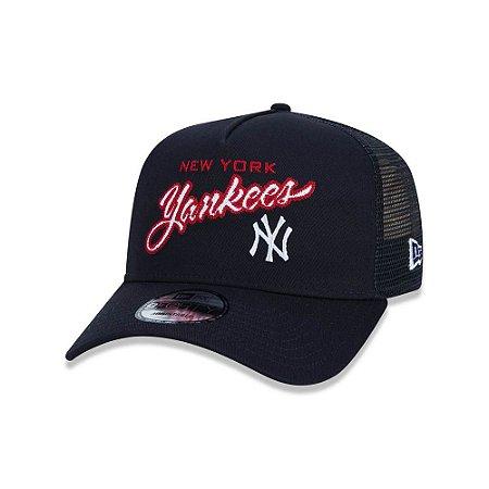 Boné New Era 940 New York Yankees AC Best Logo - Marinho